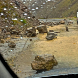 on the way to Paro  by Charlie Marcus - News & Events Weather & Storms (  )
