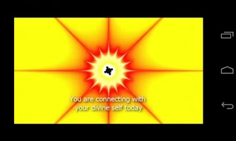 Screenshot of Center Guided Meditation Video