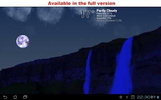 Screenshot of True Weather, Waterfalls FREE