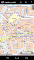 Screenshot of Augsburg Offline City Map