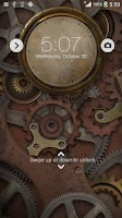 Screenshot of XPERIA™ THEME Steampunk