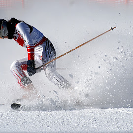 Finishing race by Adi Drnda - Sports & Fitness Snow Sports (  )