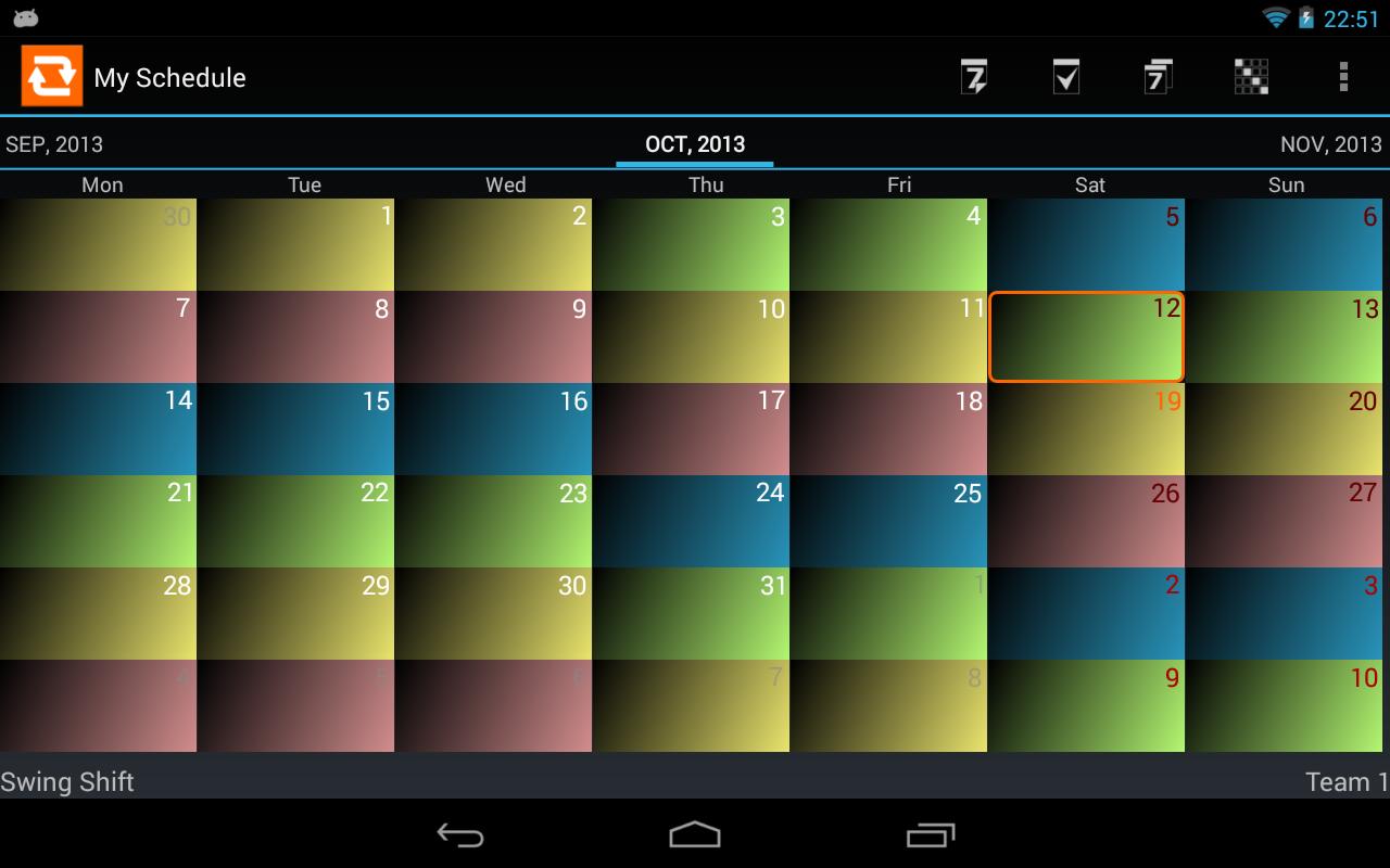 8 Hour Shift Schedule Templates