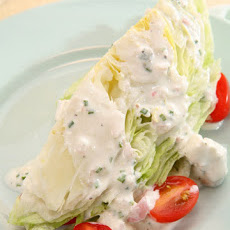 Iceberg Wedges with Buttermilk Blue Cheese Dressing