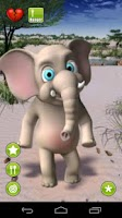 Screenshot of Talking Lolo Elephant