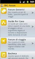 Screenshot of Turisti per Caso