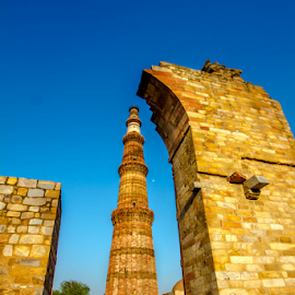 Qutub Minar by Rahul Bakshi - Buildings & Architecture Statues & Monuments