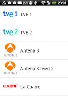 Screenshot of TdT España