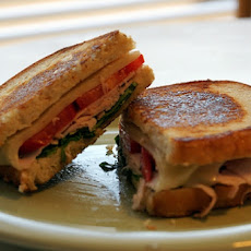 Grilled Maple Turkey Sandwich