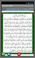 Screenshot of Doa Selepas Solat Fardhu