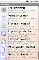 Screenshot of Inventory FREE