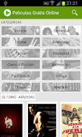 Screenshot of Free Spanish Movies Online