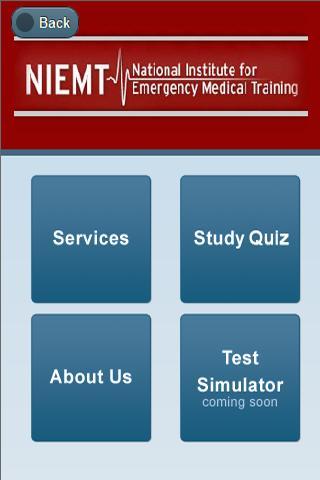 NIEMT EMT Study Quiz