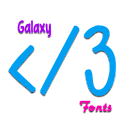 Galaxy Font Pack 3