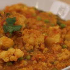 Cauliflower & Red Lentil Curry
