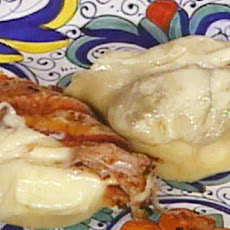 Grilled Smoked Mozzarella---Scamorza All Griglia