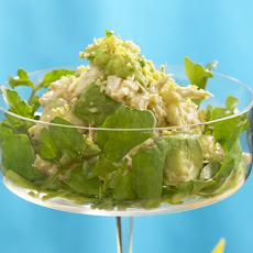 Mad Men Recipes: Crab and Avocado Mimosa