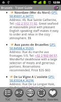 Screenshot of Belgium - FREE Travel Guide