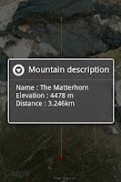Screenshot of Mountain Live Explorer - ALPS