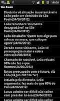 Screenshot of Noticias sobre o Sao Paulo FC