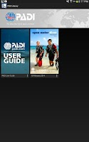 Screenshot of PADI Library