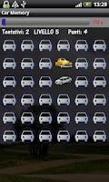 Screenshot of Car Memory