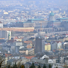 Budapest by David Francis - City,  Street & Park  Skylines