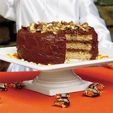Heavenly Candy Bar Cake