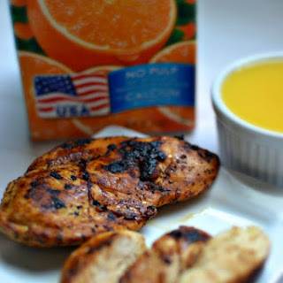 Tailgating Florida Style with Florida Orange Juice! Citrus Marinade #Recipe #OJTailgating #MC