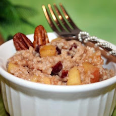 Microwave Dutch Apple Oatmeal