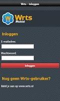 Screenshot of Mobile Wrts