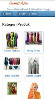 Screenshot of Toko Online Baju Gamis Terbaru