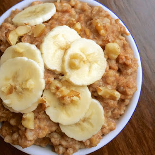 Slow Cooker Banana Nut Oatmeal