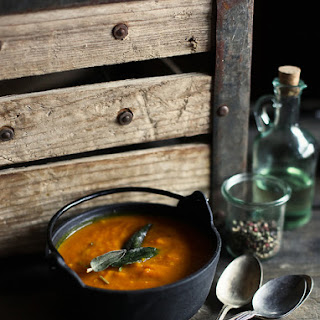 Roasted Kabocha Squash Soup