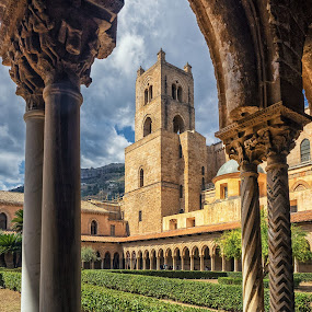 Monreale from the Abbey by Gabriel Catalin - Buildings & Architecture Places of Worship