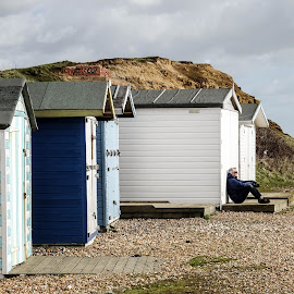 Beach Huts by Vince Apps - Buildings & Architecture Other Exteriors ( beach hut, beach )