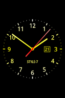 Screenshot of Analog Clock Live Wallpaper-7