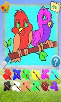 Screenshot of Coloring Game Animals