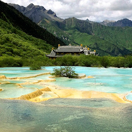 Jiuzhaigou, China by Johnnie Ngoon - Instagram & Mobile iPhone