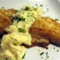 Flounder Fillets with Béarnaise Sauce