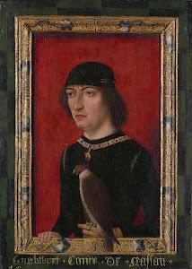 RIJKS: Meester van de Vorstenportretten, anoniem: Portrait of Engelbrecht II, Count of Nassau 1490