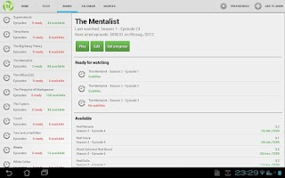 Screenshot of Medi: Media Center for Android