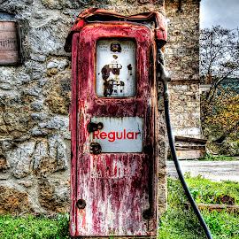 Just (ir)Regular (edit) by Sergios Georgakopoulos - Artistic Objects Antiques ( old, hdr, gasoline, pump,  )