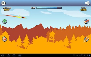 Screenshot of Paper Glider HD