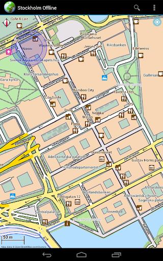 Offline Map Stockholm, Sweden - screenshot
