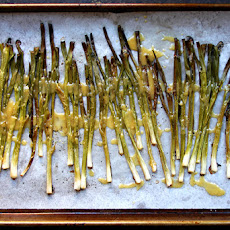 Miso Roasted Scallions