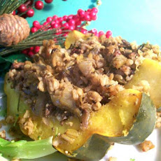 Company's Coming  Stuffed  Winter Squash