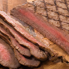 Bourbon-Marinated Flank Steak Recipe