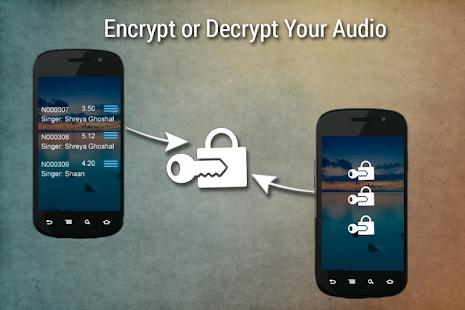 Audio vault app