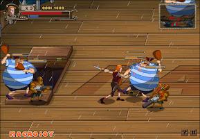 Screenshot of เกมส์ต่อสู้กับโจรสลัด